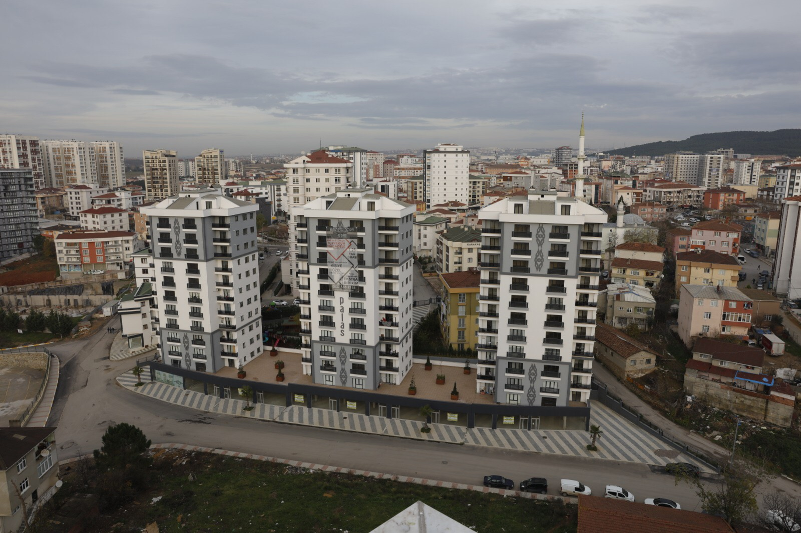 Modern and luxury apartments in Tuzla, İstanbul